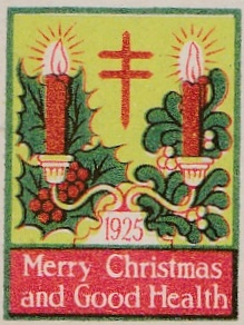 1925 type 2 US Christmas Seal