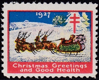 1927-3 US Christmas Seal
