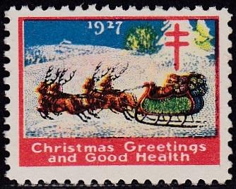 1927 US Christmas Seal essay