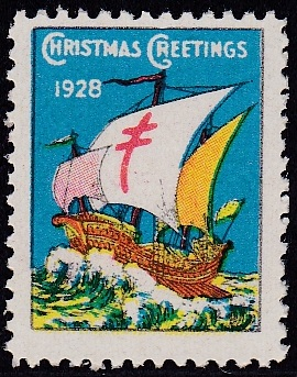 1928-2 US Christmas Seal