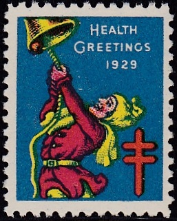 1929-1 US Christmas Seal