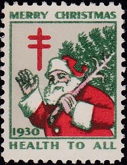 1930 US Christmas Seal