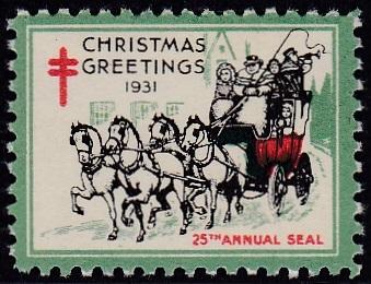 1931 US Christmas Seal