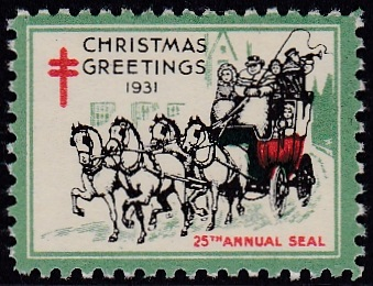 1931-1B US Christmas Seal