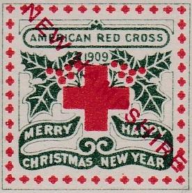 1909 New Hampshire Overprint TB Seal