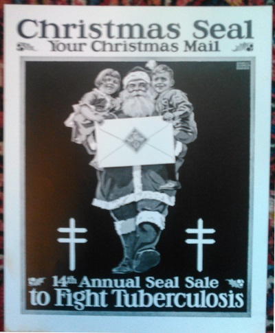 1921 Christmas Seal Poster, proof