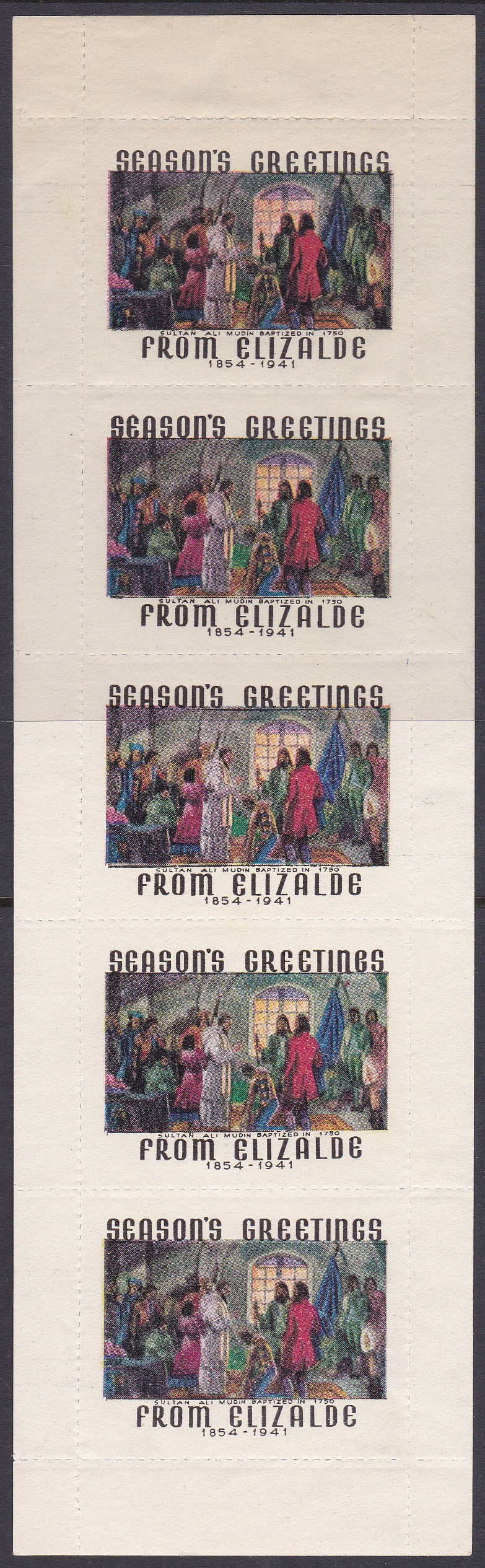 Rare 1941 Philippines Elizalde pane