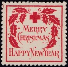 1907 US Christmas Seal, type 2 EF