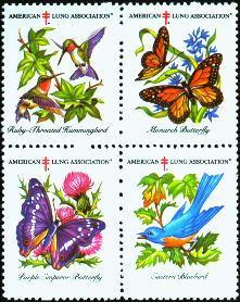 Spring Issue American Lung Association seals