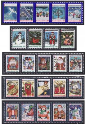 American Lung Association Christmas Seals 2004-08