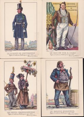1940's Belgian TB Postcards
