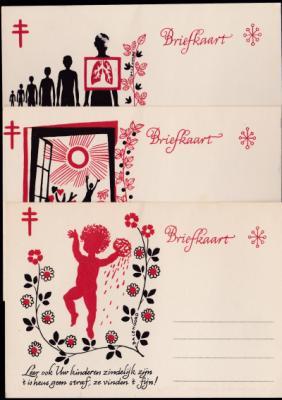Belgian TB Postcards
