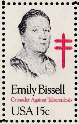 Emily Bissell, designer and developer of 1st US Christmas Seal