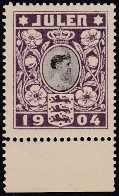 Denmark 1904 - World's First Christmas Seal