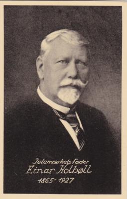 1927 Danish TB Postcard, Einar Holboll