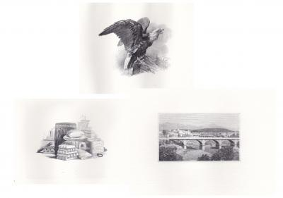 Yves Baril, Canadian engravings, Intaglio