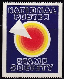 National Poster Stamp Society Poster Stamp