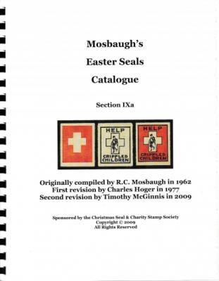 Literature, Mosbaugh Easter Seal Catalog