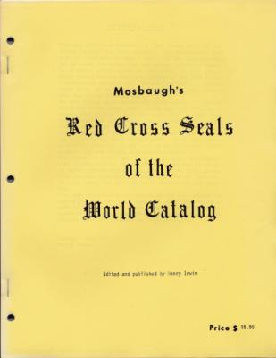 Red Cross Seals of The World, Mosbaugh's Catalog