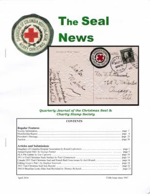 Seal News, Spring 2016