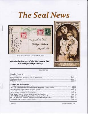 Seal News, Fall 2015
