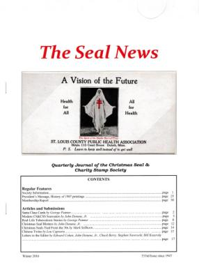 Seal News, Winter 2016