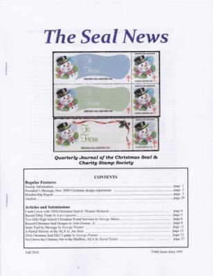 Seal News, Fall 2016