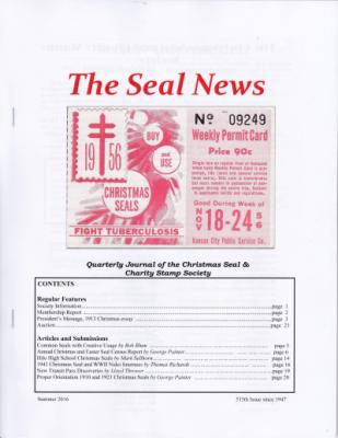 Seal News Summer 2016