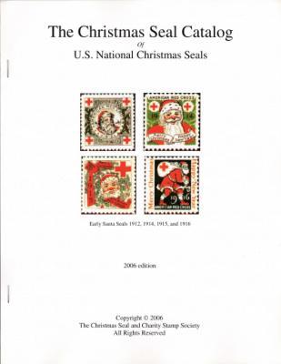 Literature,The Christmas Seal Catalog, goof printing, staple bound