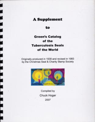 Literature, Green's Catalog of Tuberculosis Seals of the World, Foreign, 1983 - 2007
