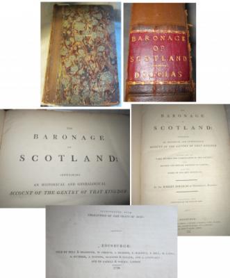 The Baronage of Scotland, 1798