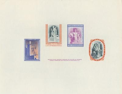 The Original Statue Card BEP 1955