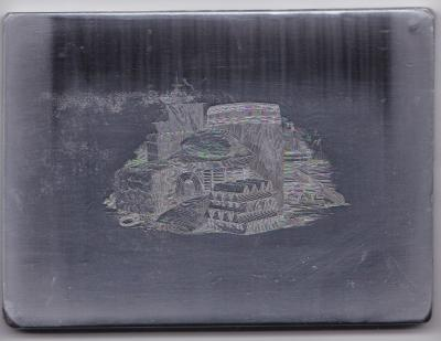 Intaglio Engraved Die by Yves Baril