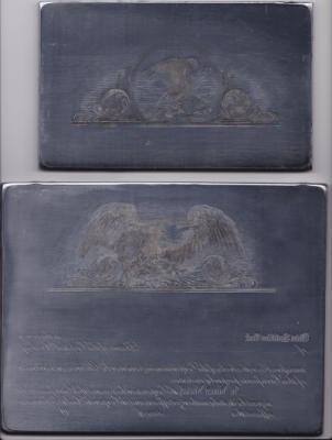 Intaglio Engraved Dies, Antique Eagles