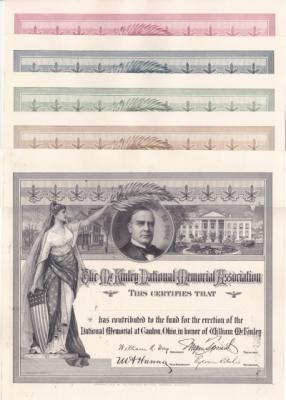 FSO 1902A Wm Mckinley Mem Assn Reprint