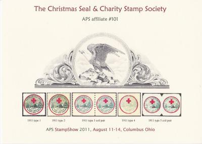 2011 APS StampShow, CS&CSS Souvenir Card