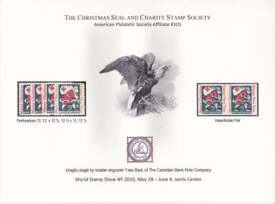 2016 World Stamp Show, NY. Set of 3, CS&CSS Souvenirs