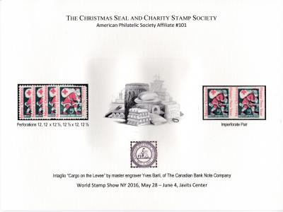 2016 World Stamp Show, NY. Set of 3, CS&CSS Souvenirs