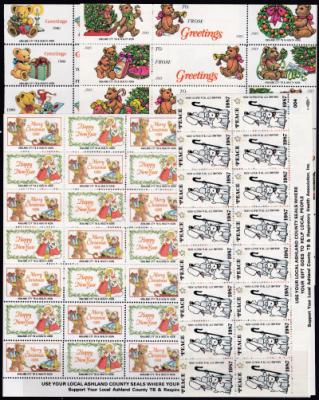American Federated US Local Christmas Seals