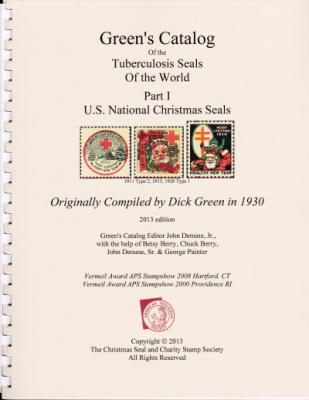 Literature, Green's Catalog of the Tuberculosis Seals, US National Christmas Seals