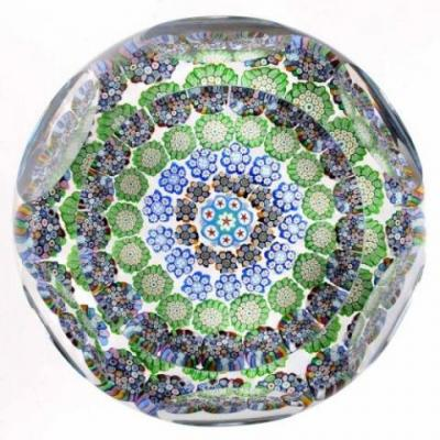 Peter McDougall concentric paperweight