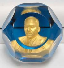Reverend Dr. Martin Luther King, Jr. Baccarat papewrweight