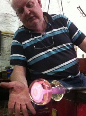 John Deacons paperweight maker