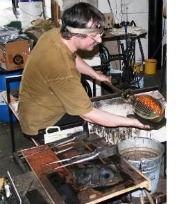 Michael Hunter paperweight maker
