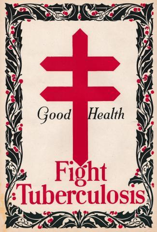 Early TB Poster issued by the Federated Women's Club