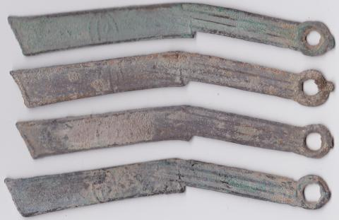 Chinese Zhou Dynasty Ming Knife Coins