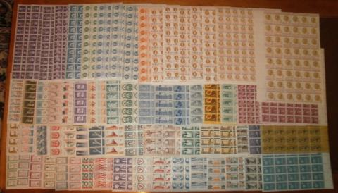 Mint US Postage In Full Sheets