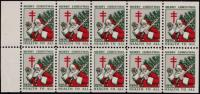 1930 US Christmas Seal booklet pane