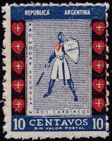 Argentina Red Cross #51.1 Knight and Sword