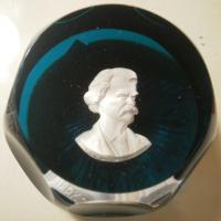 1969 Mark Twain, sulphide, Crystal d'Albret